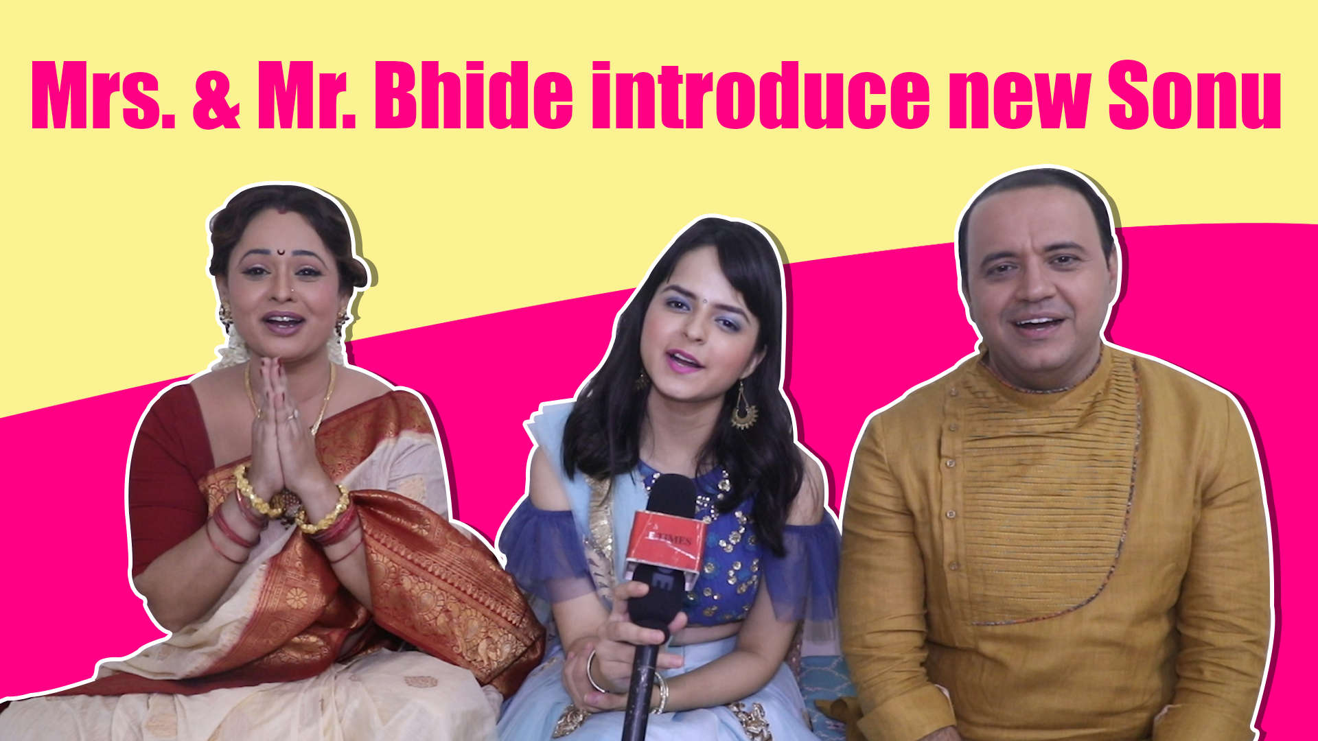 Taarak Mehta Ka Ooltah Chashmah's Mr and Mrs Bhide: We were missing Sonu,  happy she is back |Exclusive|