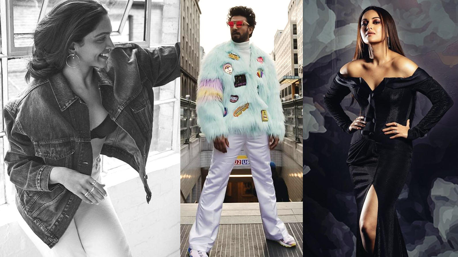Sonakshi Sinha compares Deepika Padukone and Ranveer Singh's fashion sense