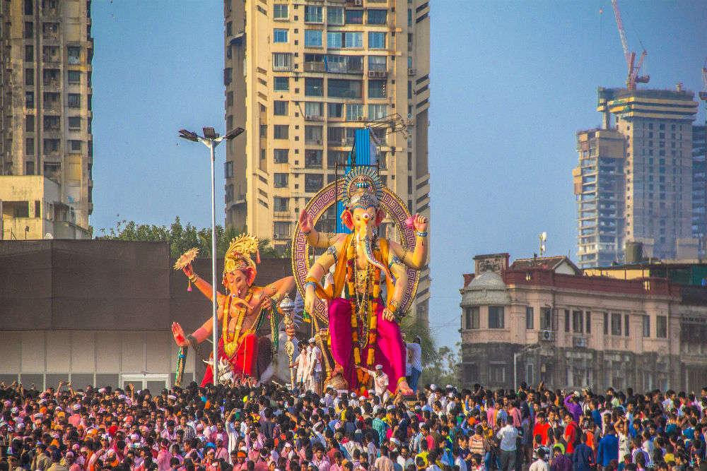 Mumbai traffic advisory for Ganpati Visarjan: cops, CCTV, drones to keep a close eye