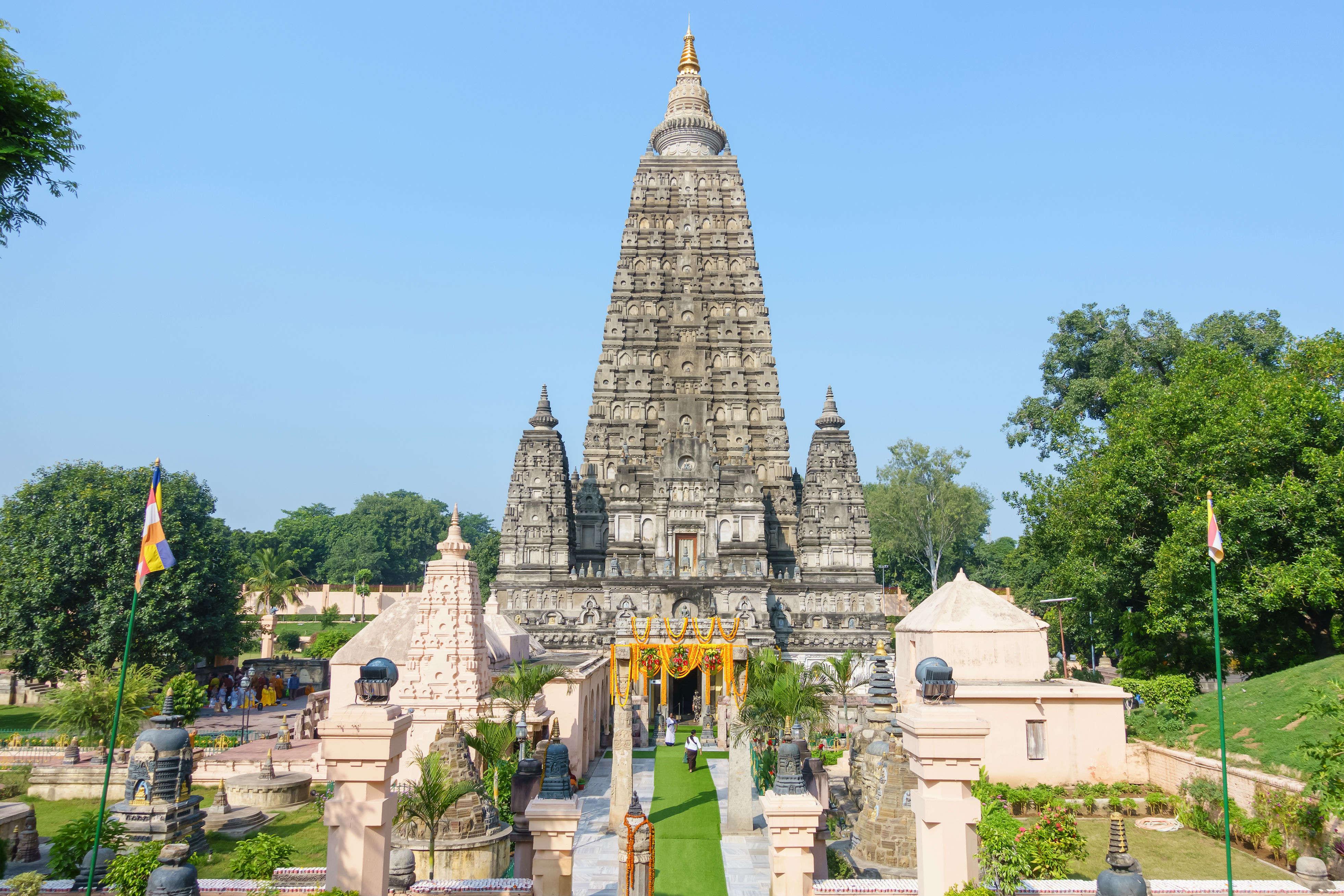 Bodh Gaya to be developed into a world-class tourist destination