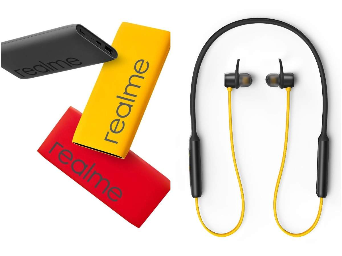 Realme Buds Wireless Realme Launches Power Bank And Wireless Buds Price Specs And More Times Of India