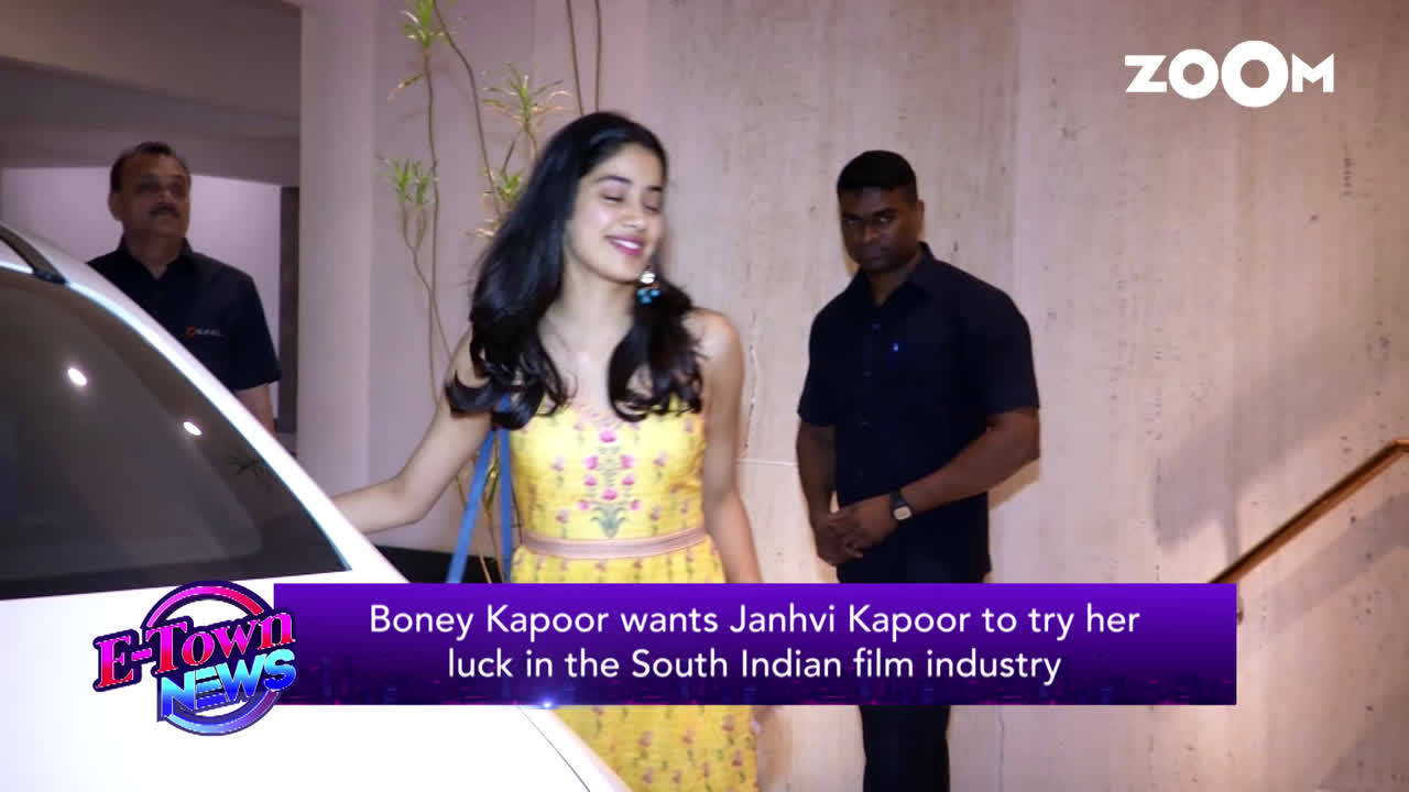 boney-kapoor-wants-janhvi-kapoor-to-try-her-luck-in-the-south-indian-film-industry