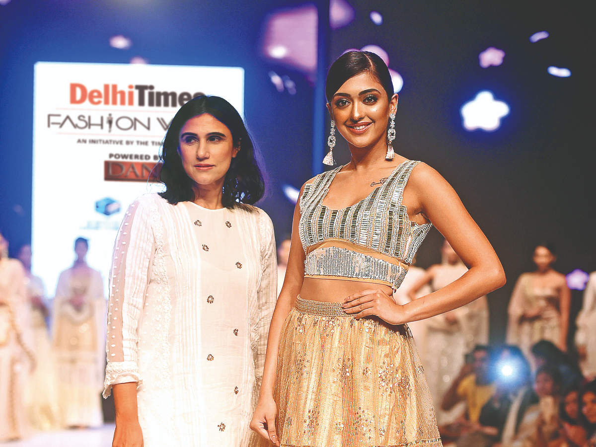 Delhi Times Fashion Week 2019 Day 1 Times Of India