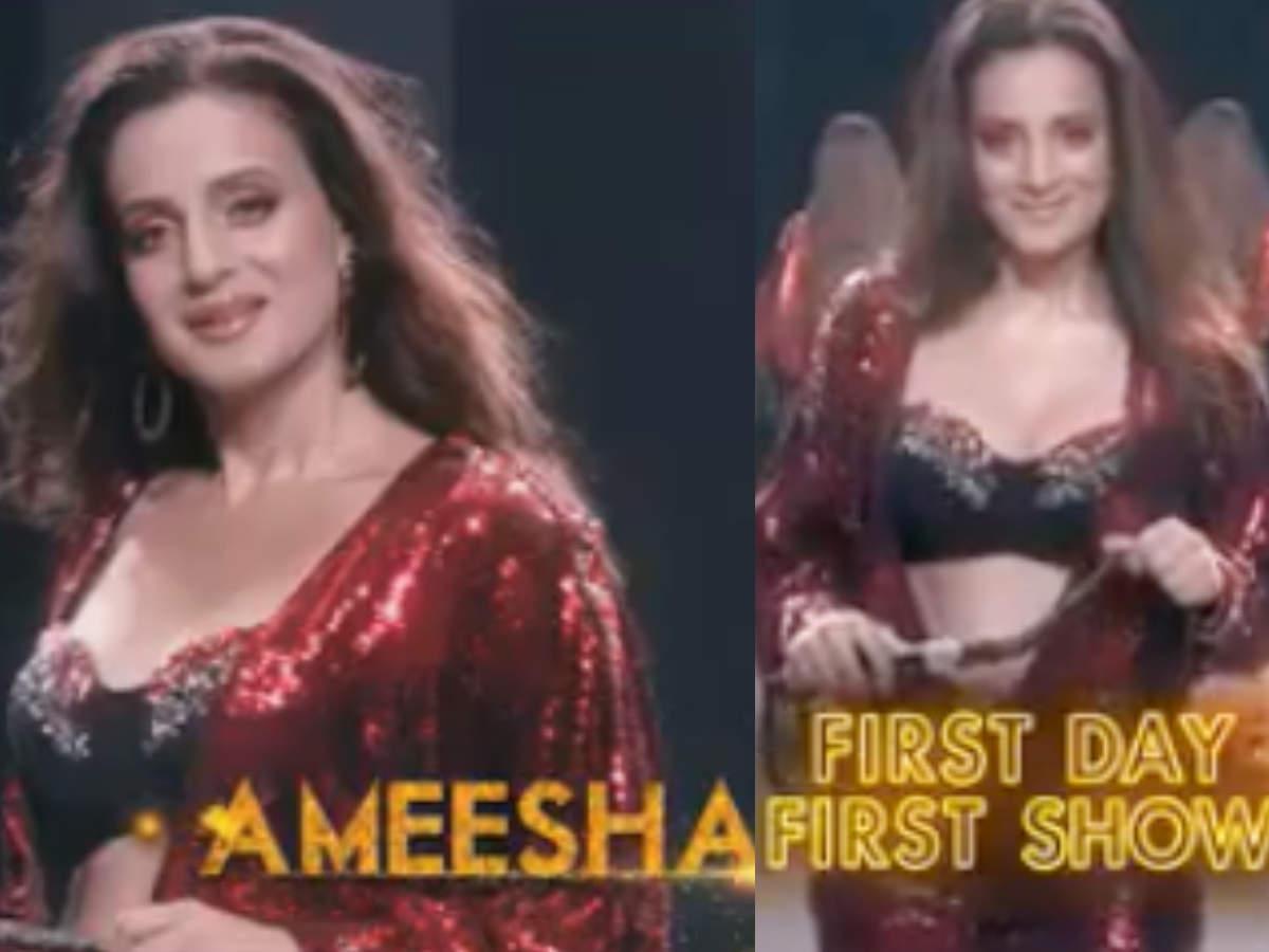 Amisha Patel Nangi Photo bigg boss 13: ameesha patel to add spice and reveal