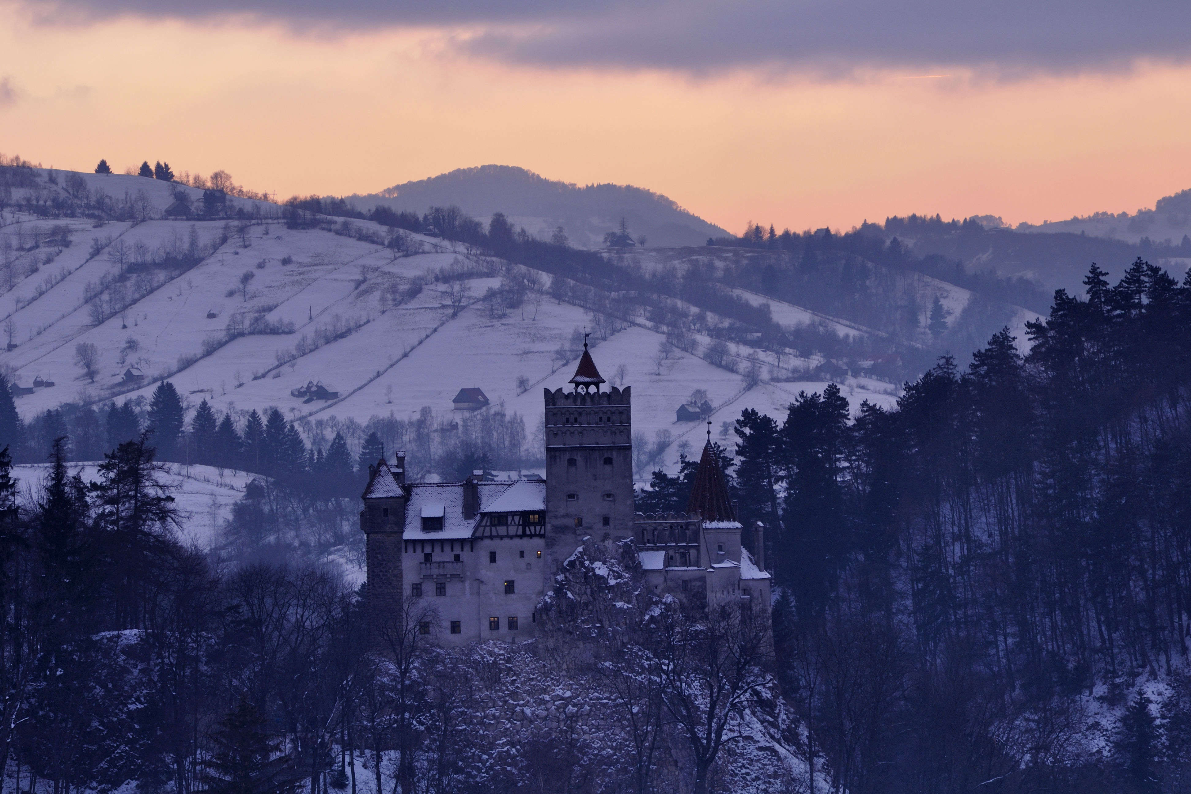 A day with the vampire—come see Dracula's castle in Romania