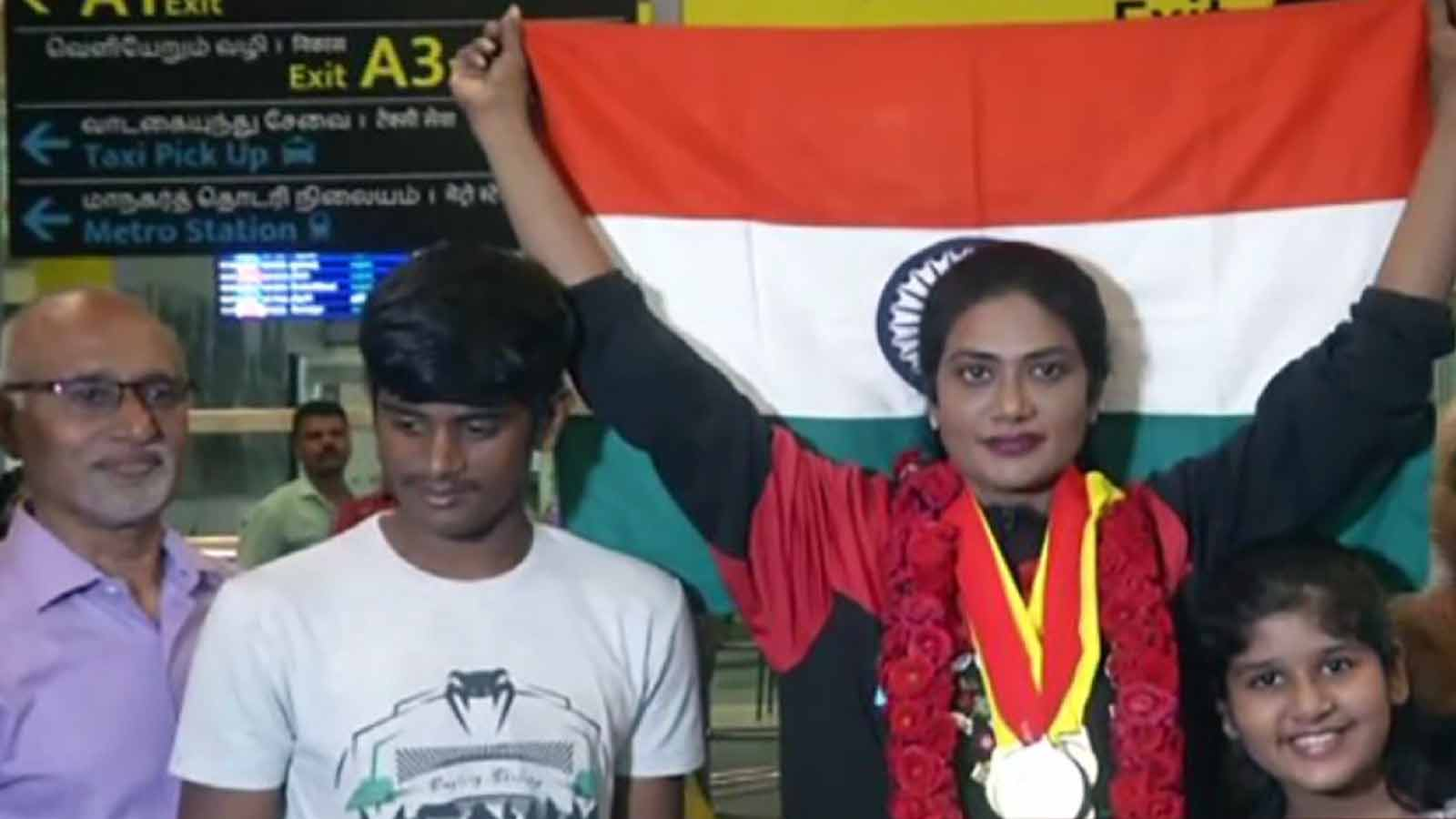 powerlifter-arathi-bags-5-gold-medals-in-commonwealth-powerlifting-championships-in-canada