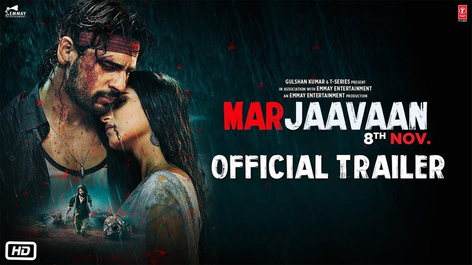 Marjaavaan Official Trailer Hindi Movie News Bollywood Times Of India