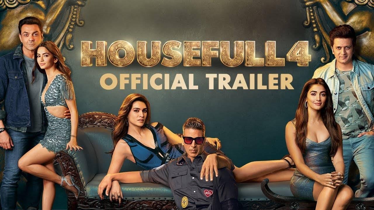 Housefull 4 Trailer Akshay Kumar Riteish Deshmukh Bobby Deol