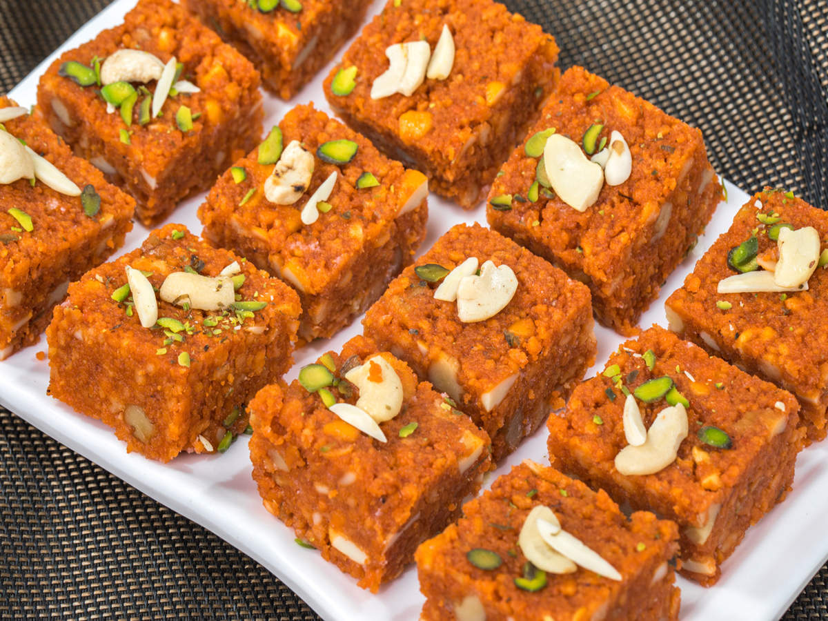 Here S How You Can Make This Easy Singhara Barfi Recipe At Home Times Of India