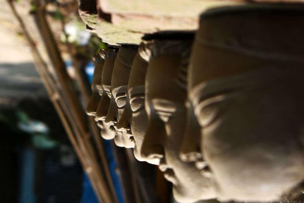 Inside Kumartuli: home to Kolkata's best Durga idol makers