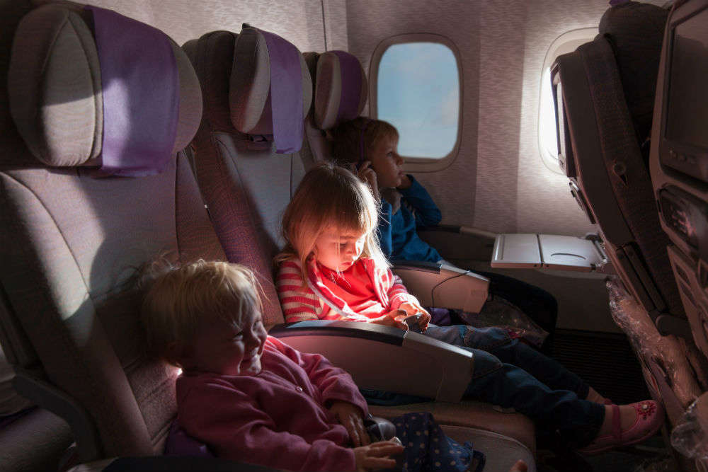 Follow 'Baby Map' to avoid sitting next to wailing babies in airplanes