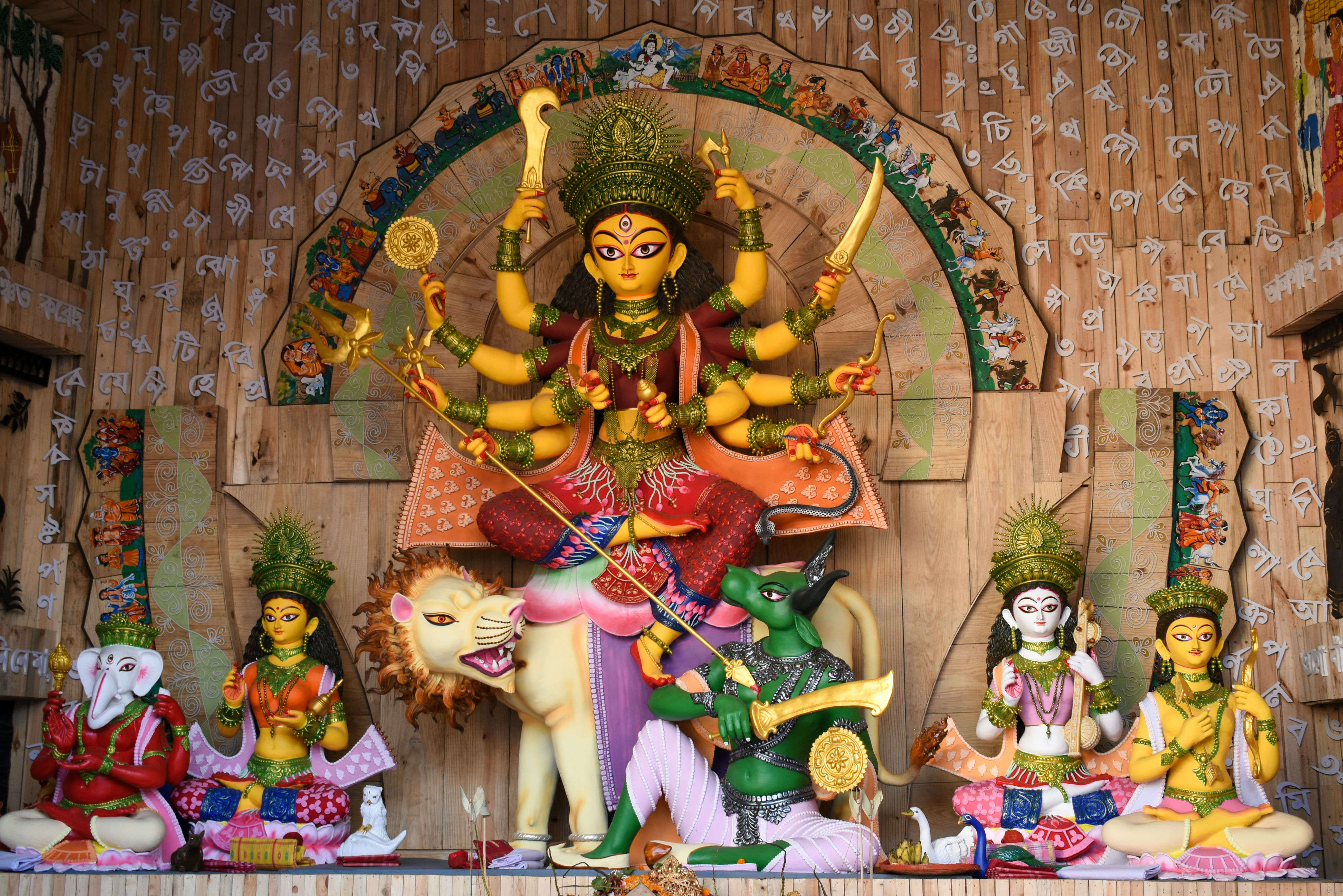 CR Park Durga Puja has something special for visitors this year