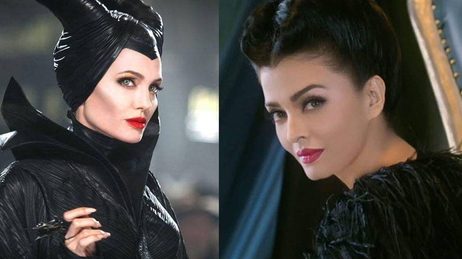 Aishwarya Rai Bachchan Looks Resplendent In Angelina Jolie S Maleficent Avatar Prepares To Lend Her Voice To The Desi Version