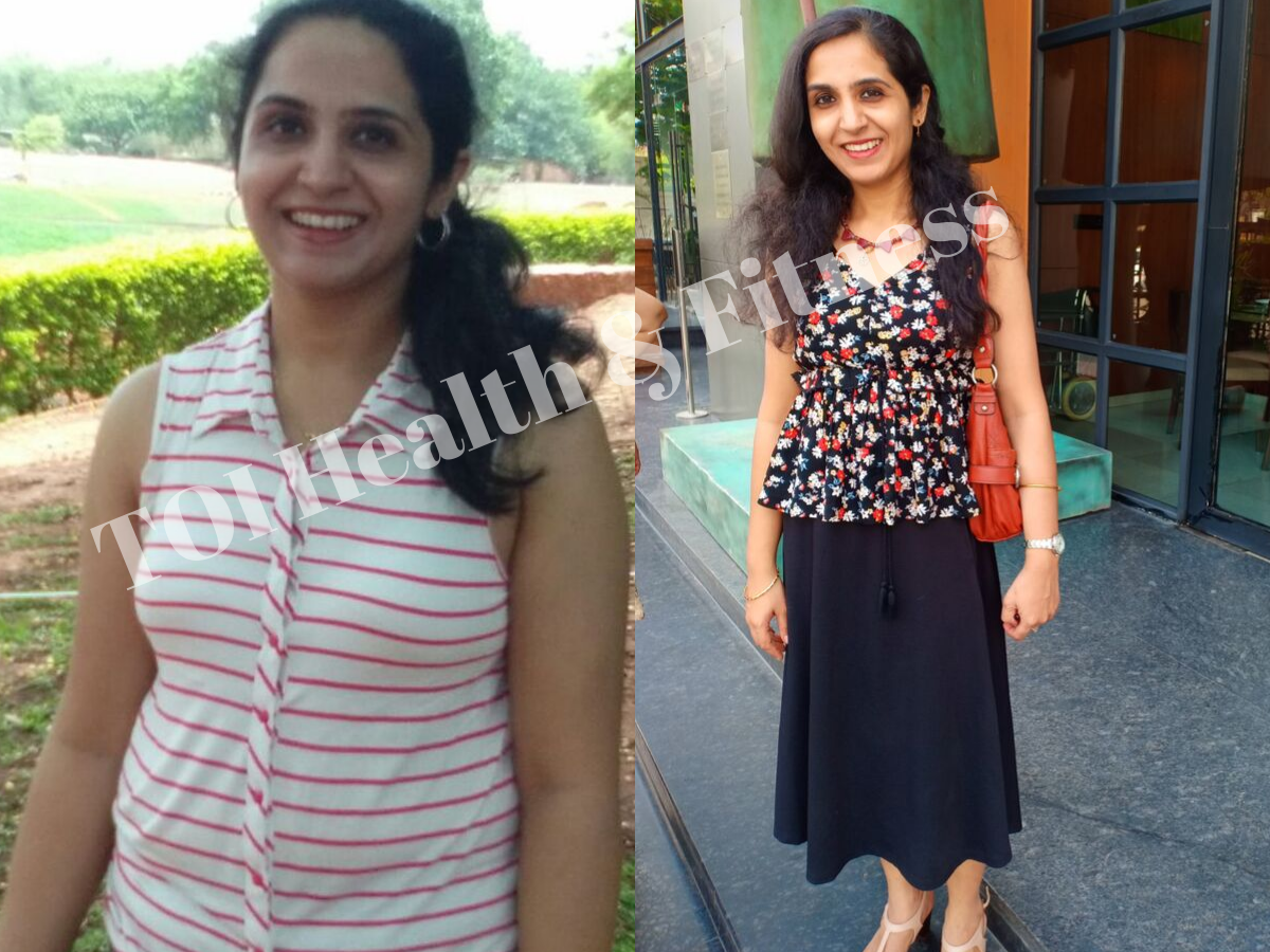 Weight Loss Story This Woman Lost 17 Kilos With Yoga And Her Transformation Is Jaw Dropping Times Of India