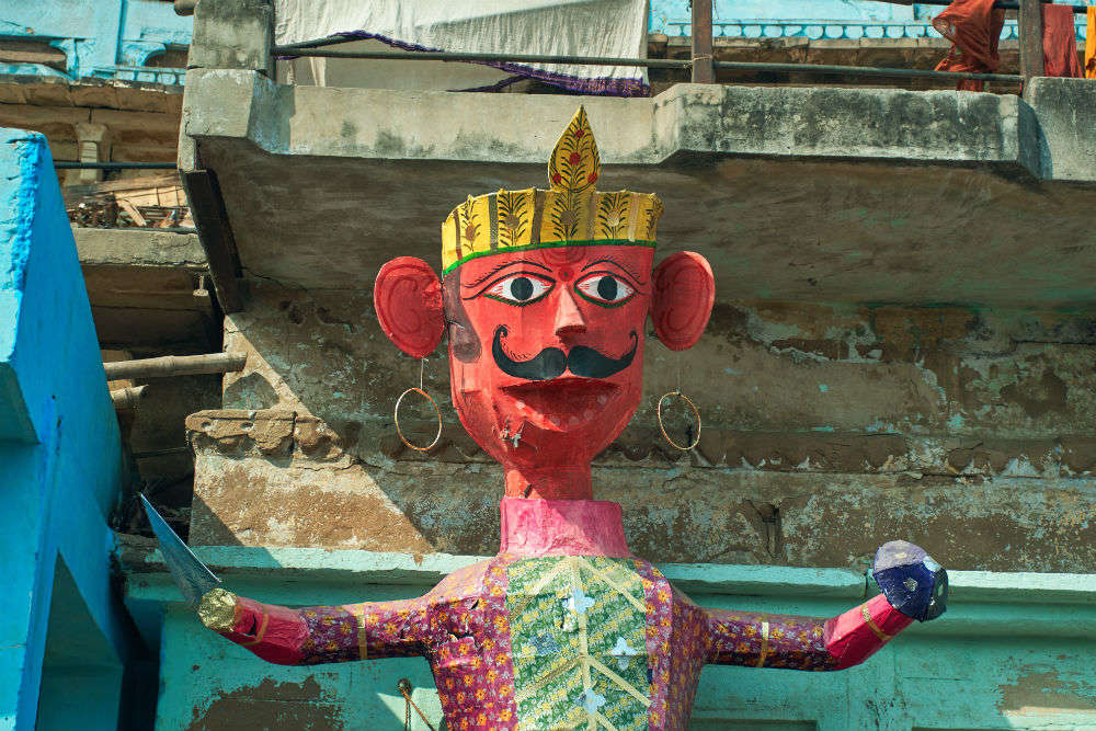 Chandigarh erects world's tallest of Ravana with special features this Dussehra