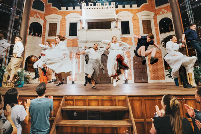 Experience Shakespeare's plays at the new pop-up Globe in Perth