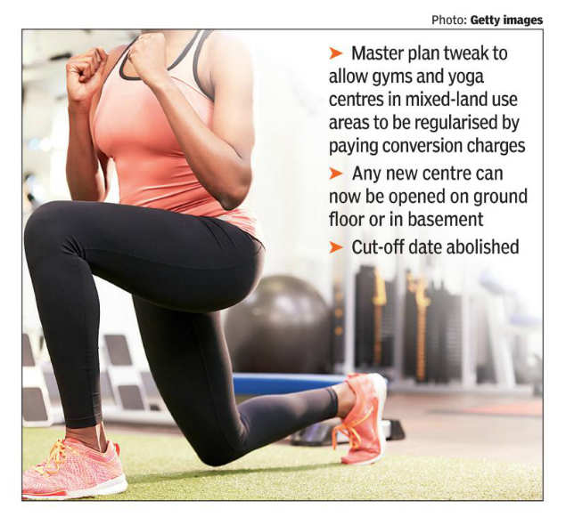Delhi Development Authority Relief For Gyms And Fitness Centres Delhi News Times Of India
