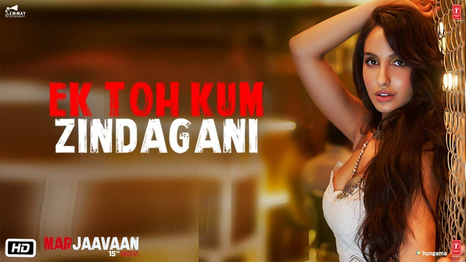 Marjaavaan Song Ek Toh Kum Zindagani Hindi Video Songs Times Of India