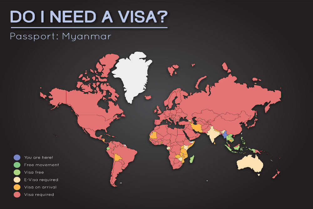 Myanmar set to extend visa-on-arrival for six more countries