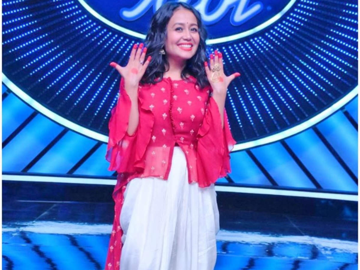 Indian Idol 11 Starts Tonight Judge Neha Kakkar Shares Inside Pictures Contestant Video Times Of India