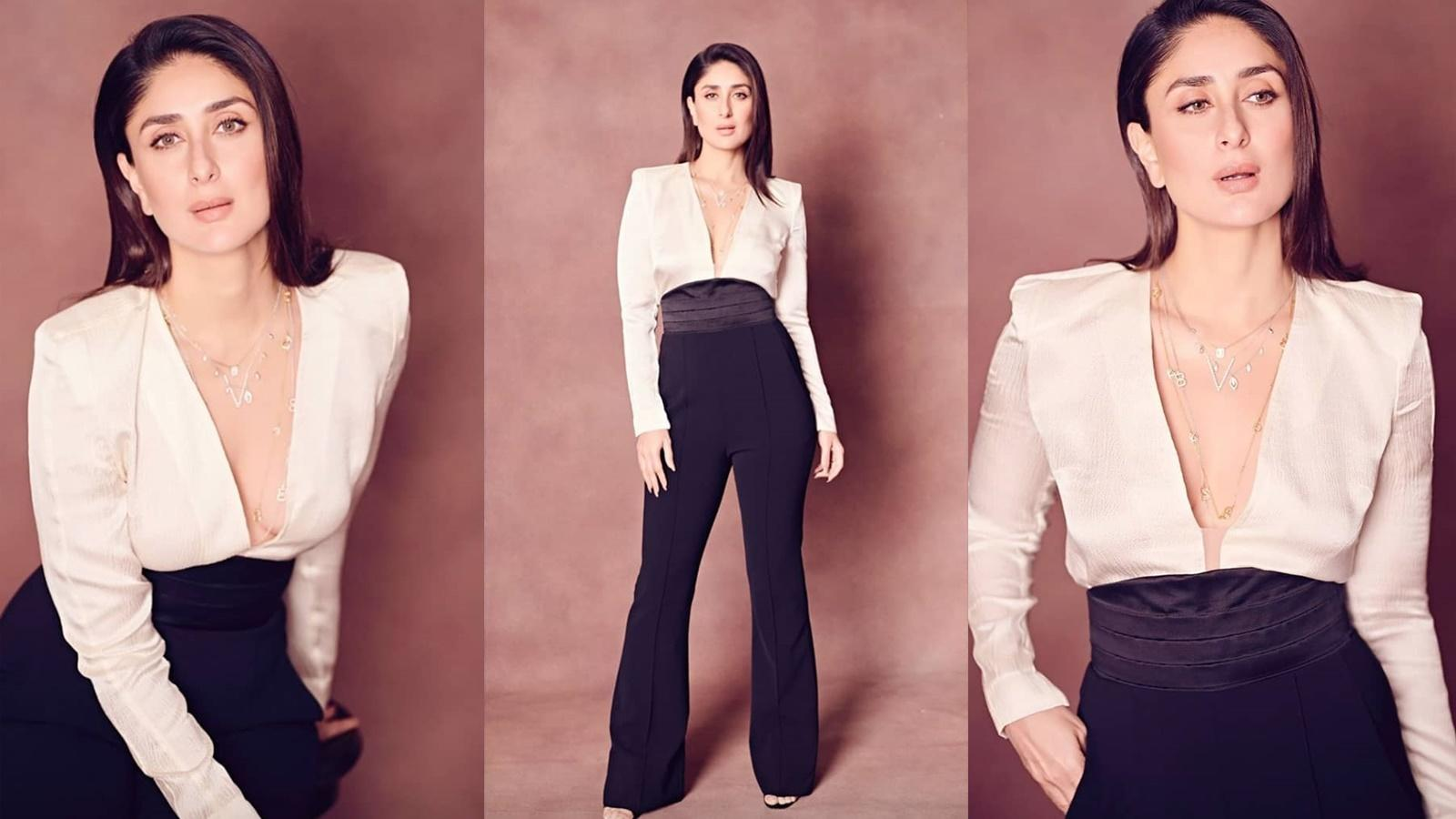 kareena-kapoor-looks-epitome-of-beauty-in-plunging-neckline-top-and-bell-bottom-pants