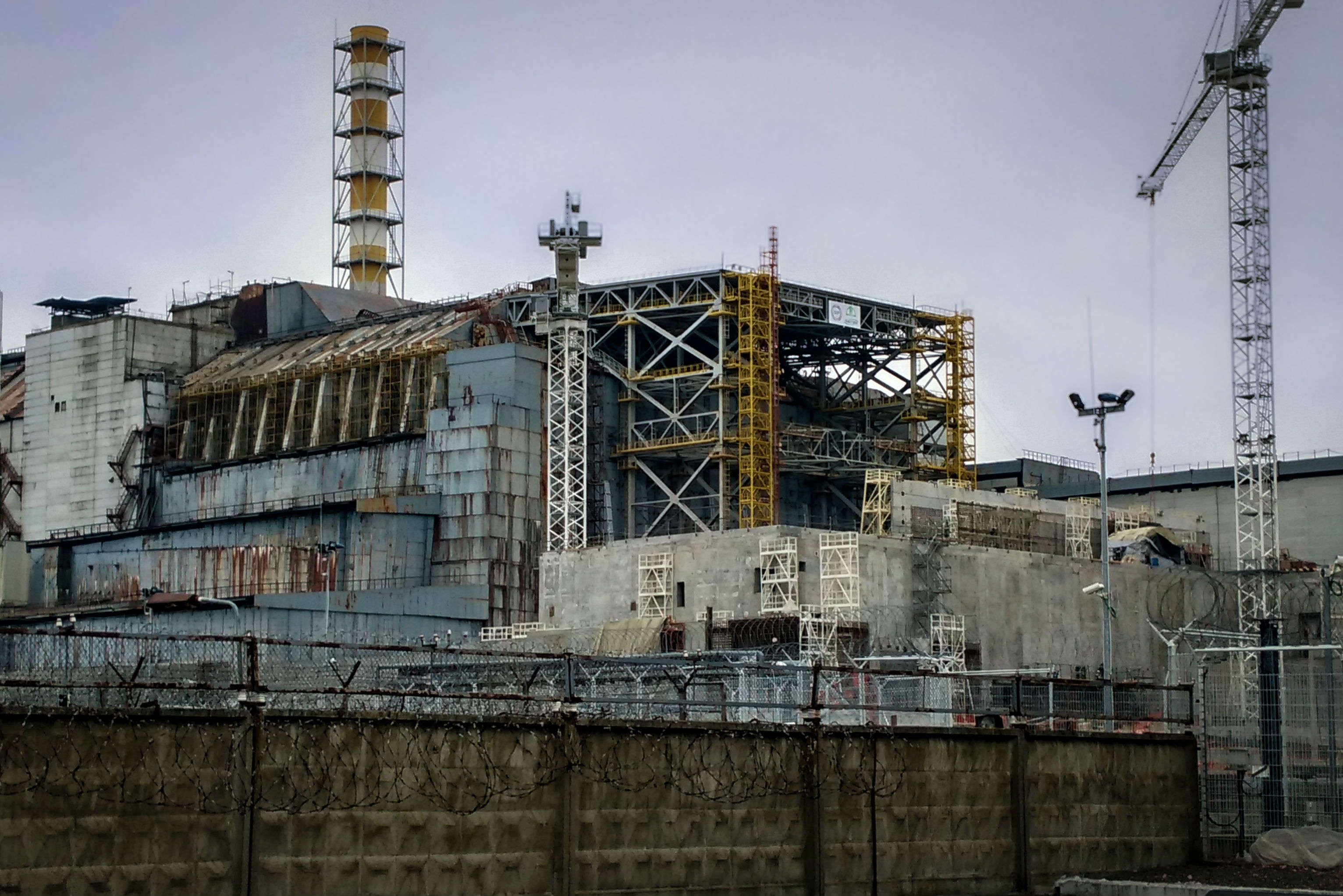 Chernobyl's fateful control room for Reactor 4 is now open for public