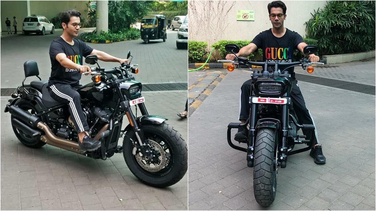 Rajkummar Rao gifts himself a superbike that costs a whopping Rs ...