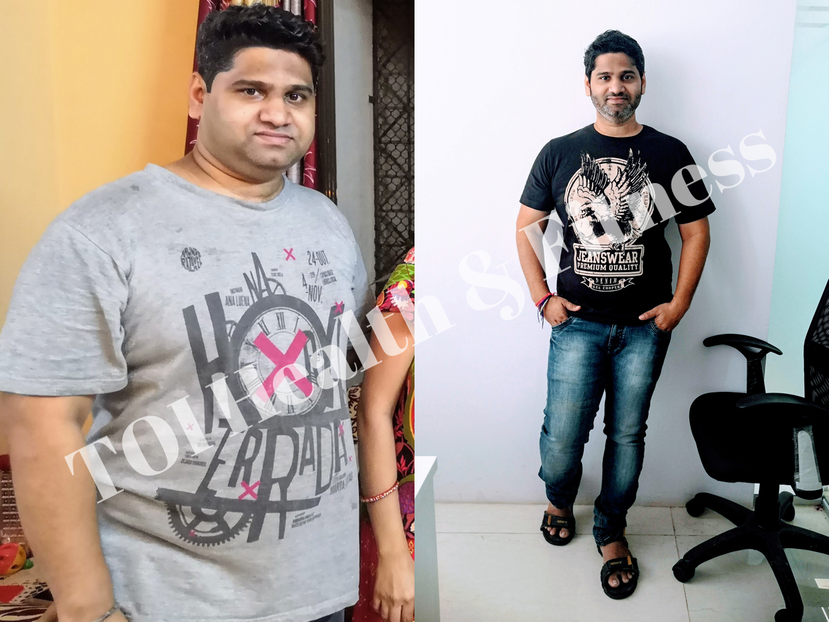 Weight Loss Story I Followed This Simple Diet To Lose 20 Kilos In Just 2 Months Times Of India