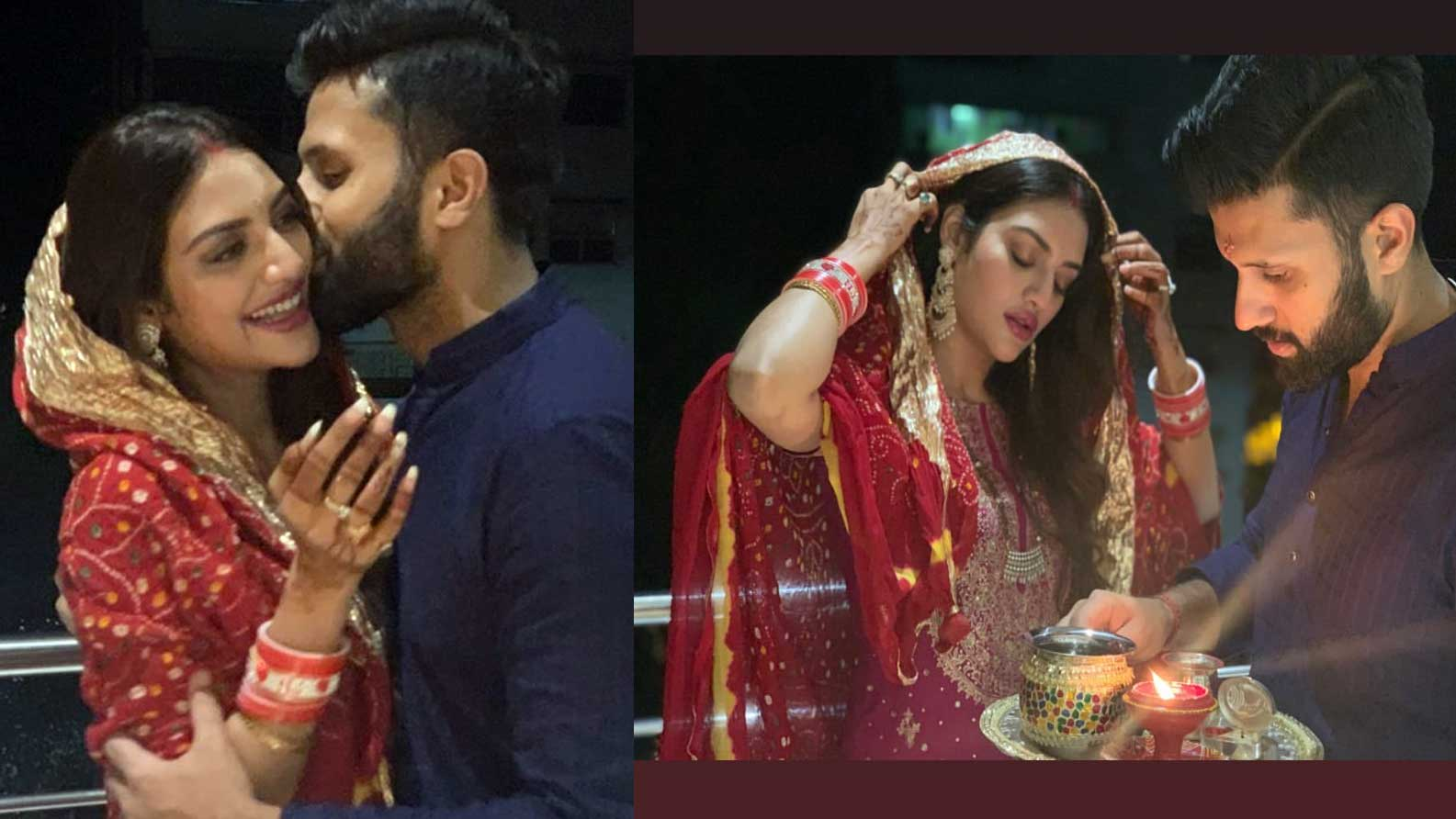 actress-turned-mp-nusrat-jahan-celebrated-her-first-karwa-chauth-with-hubby-nikhil-jain