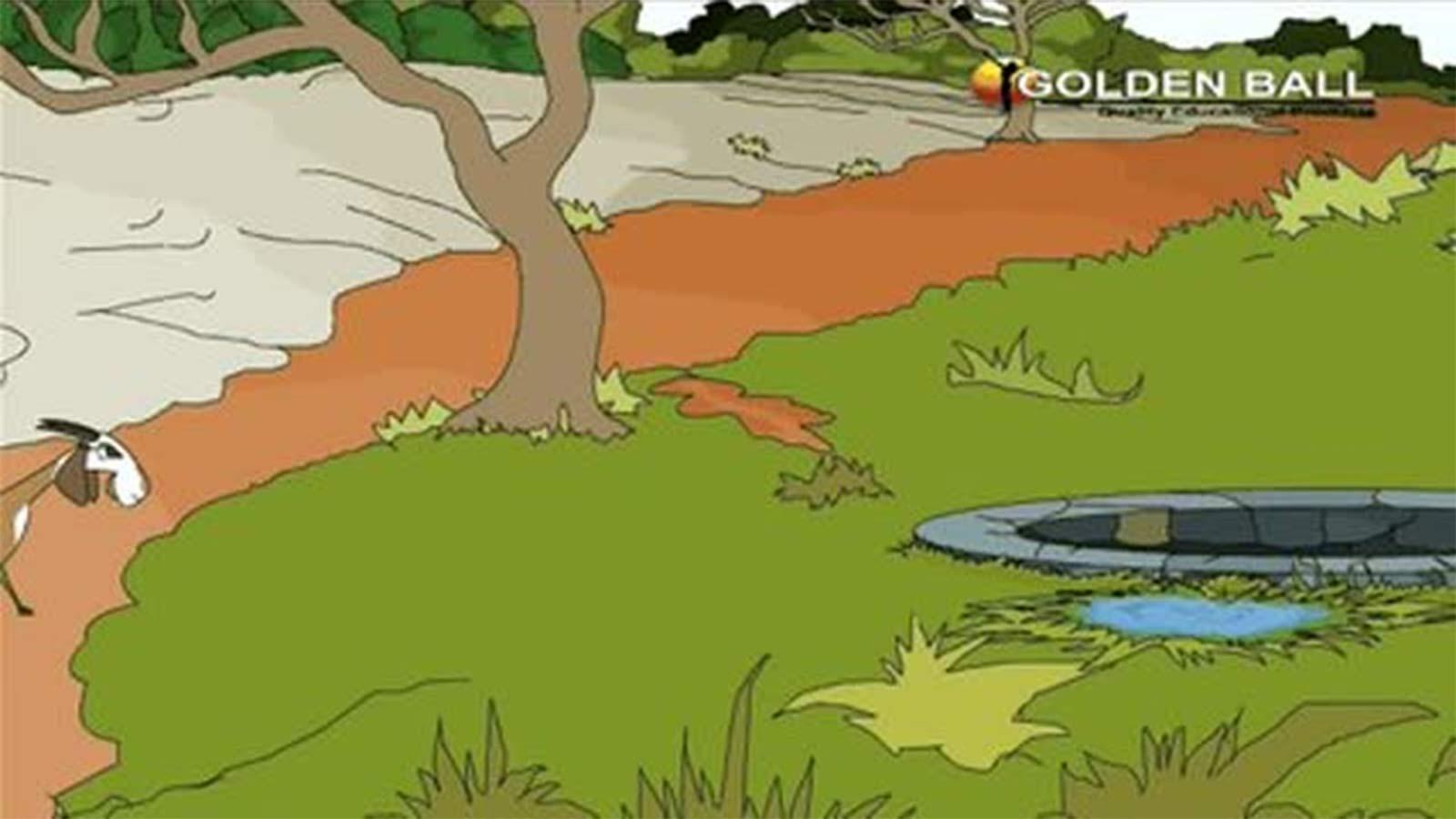 Kids Popular Story In Hindi 'Bakri Aur Lomdi' - Panchtantra Ki Kahaniya In  Hindi