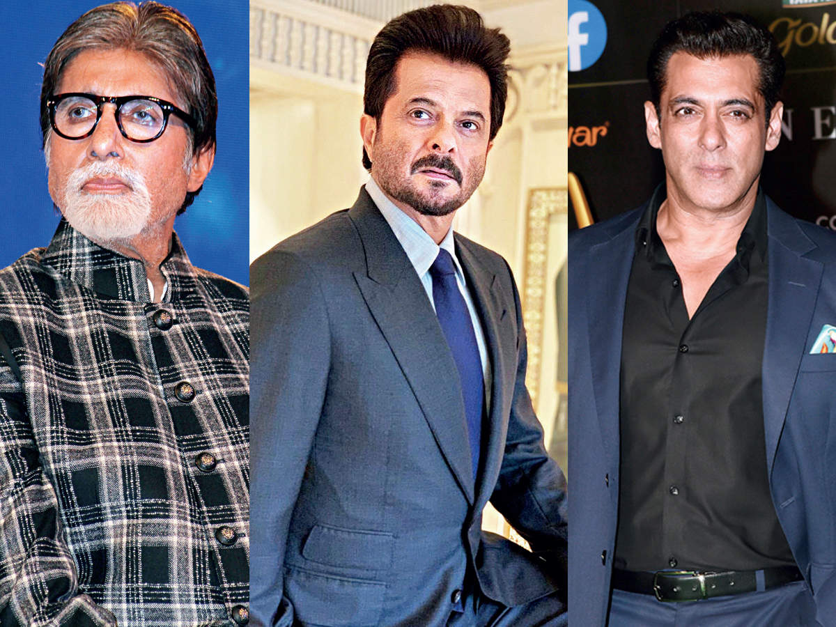 It's party time for Big B, Anil, Salman