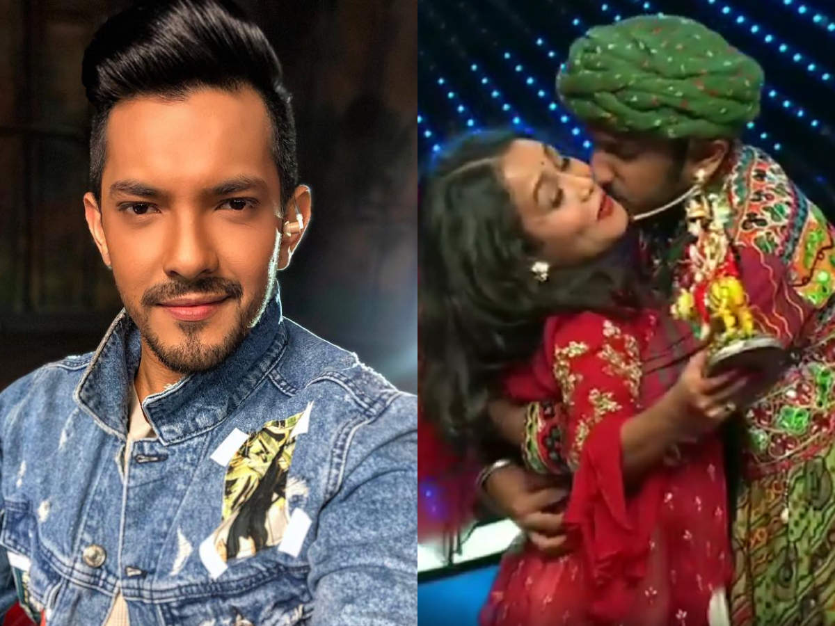 Exclusive Indian Idol 11 Host Aditya Narayan The Guy Who Kissed Neha Kakkar On The Cheek Has A Tattoo Of Her Times Of India