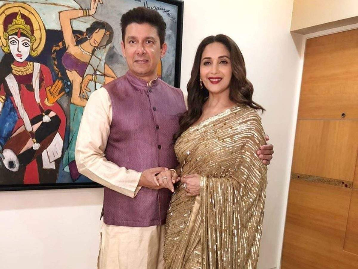 Madhuri Dixit Nene shares an adorable picture with husband Dr ...