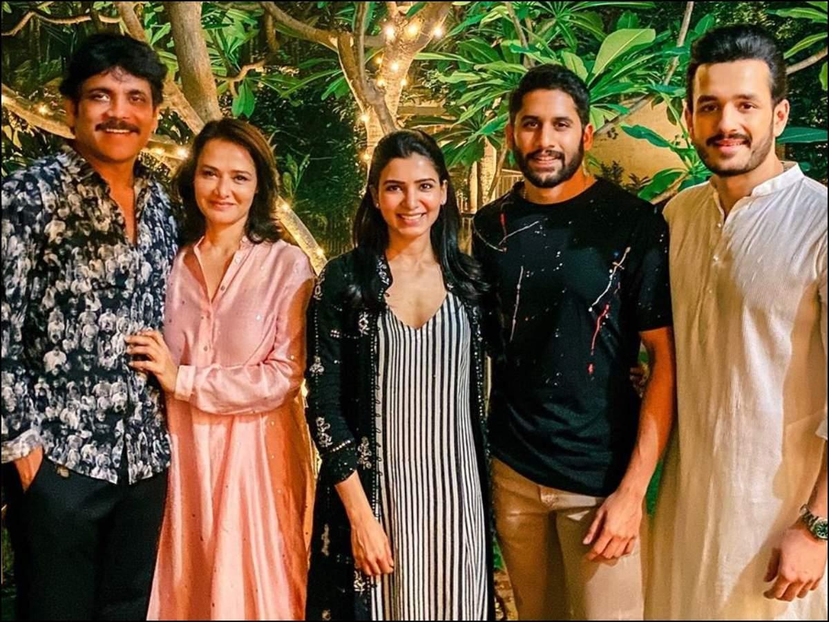 PHOTO! Samantha Akkineni celebrates Diwali with Chay, Nag and ...