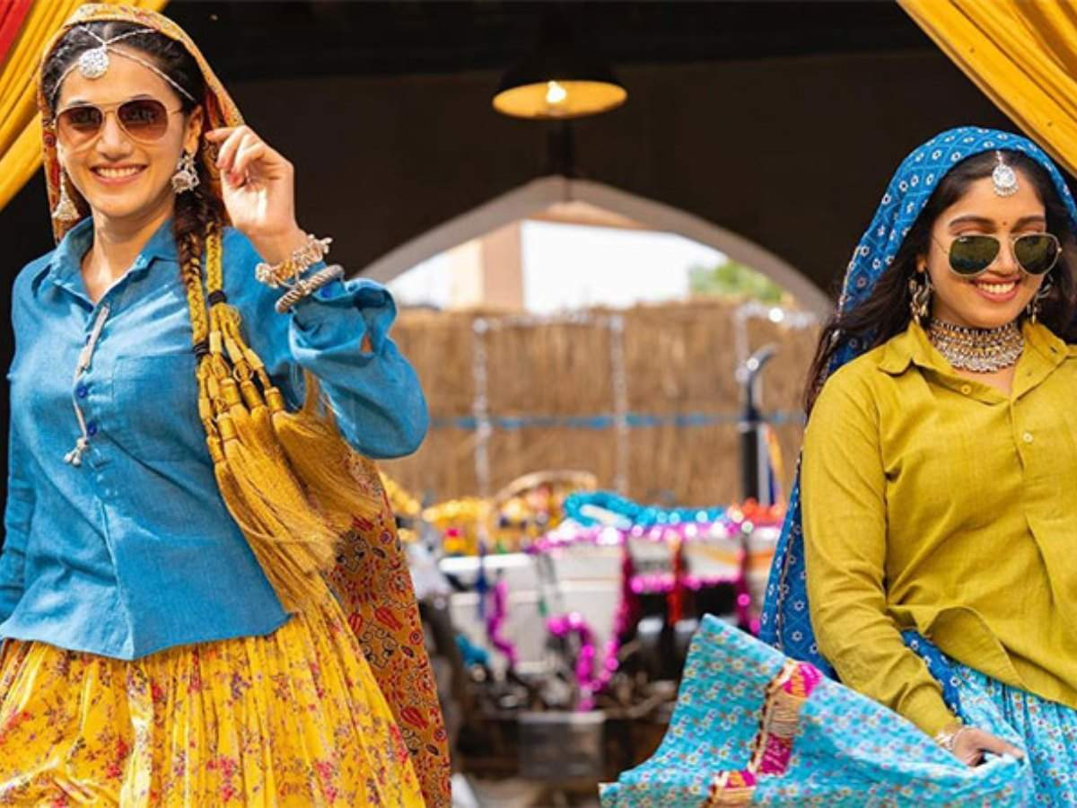'saand Ki Aankh' Box Office Collection Day 4: The Taapsee Pannu And Bhumi Pednekar Shows A Massive Growth On Monday | Hindi Movie News