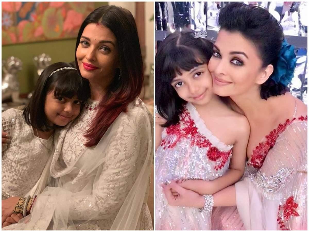 7 times birthday girl Aishwarya Rai Bachchan twinned with daughter ...