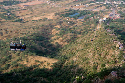 Ropeway linking Kali Khoh, Ashtabhuja in UP, likely to start operations from Nov