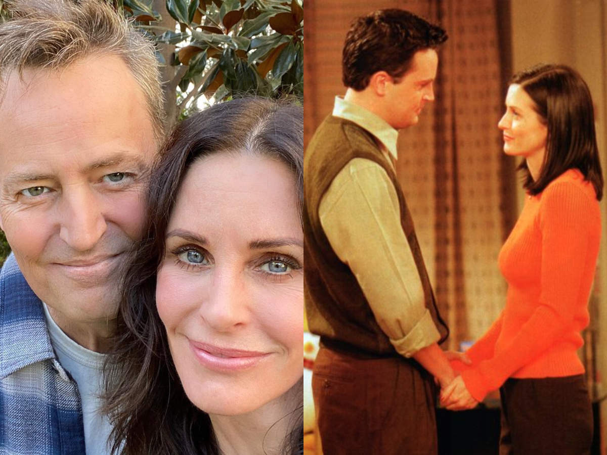 Image result for Friends: The Real Life Love Story Of Matthew Perry And Courteney Cox That Never Turned Real