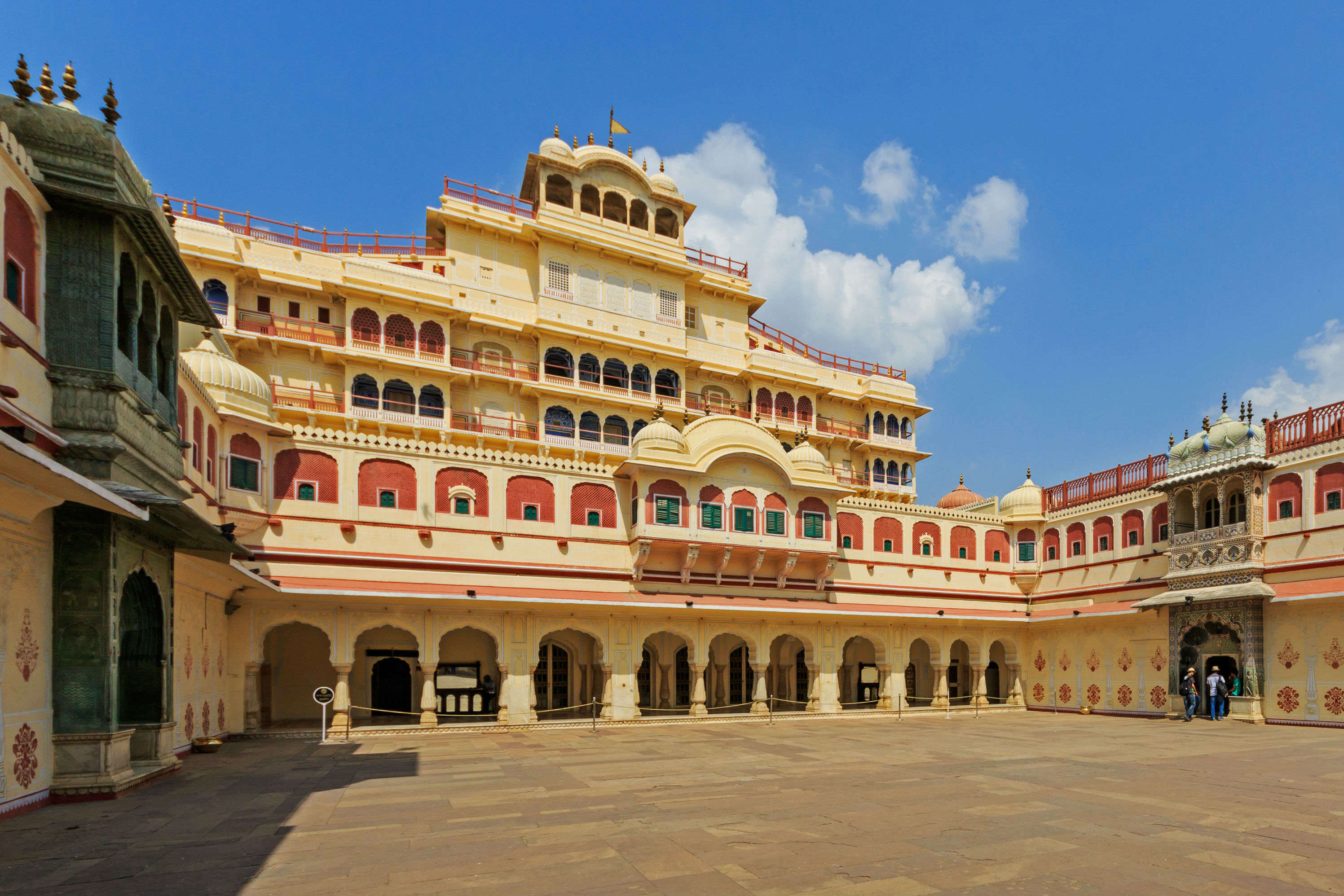 Now you can rent a suite in the opulent City Palace, Jaipur