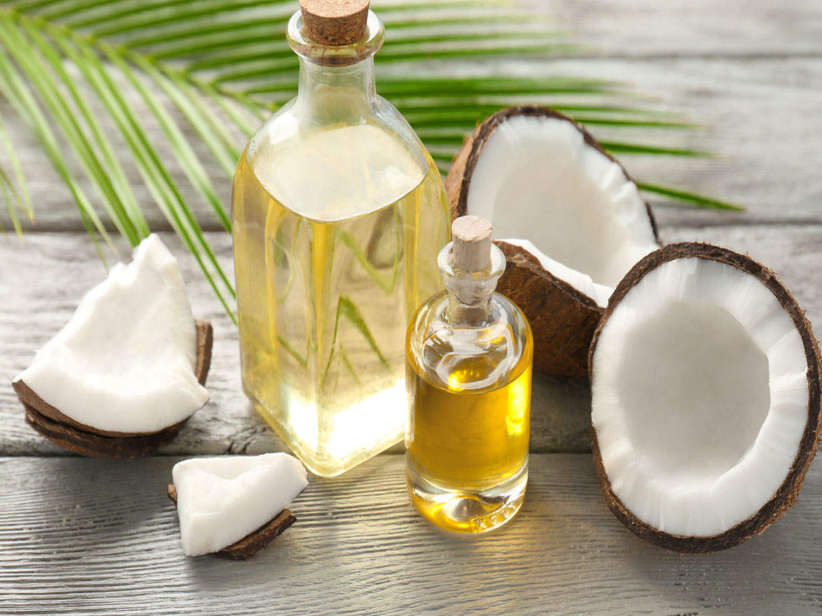 Here's how coconut oil helps in curing sore throat - Times of India