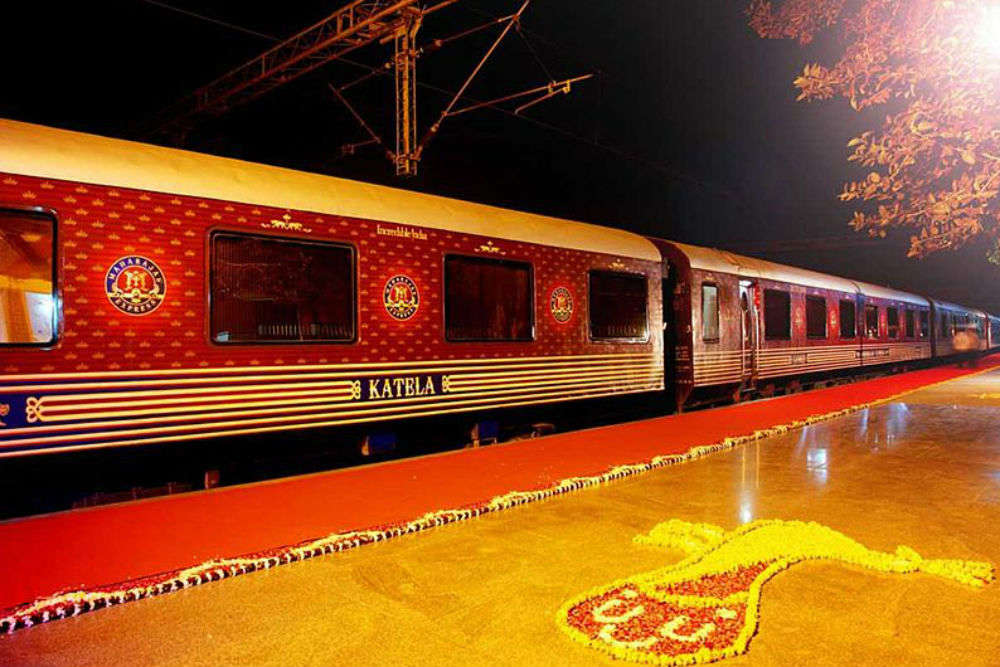 A train for an extraordinary experience: information about Maharajas' Express