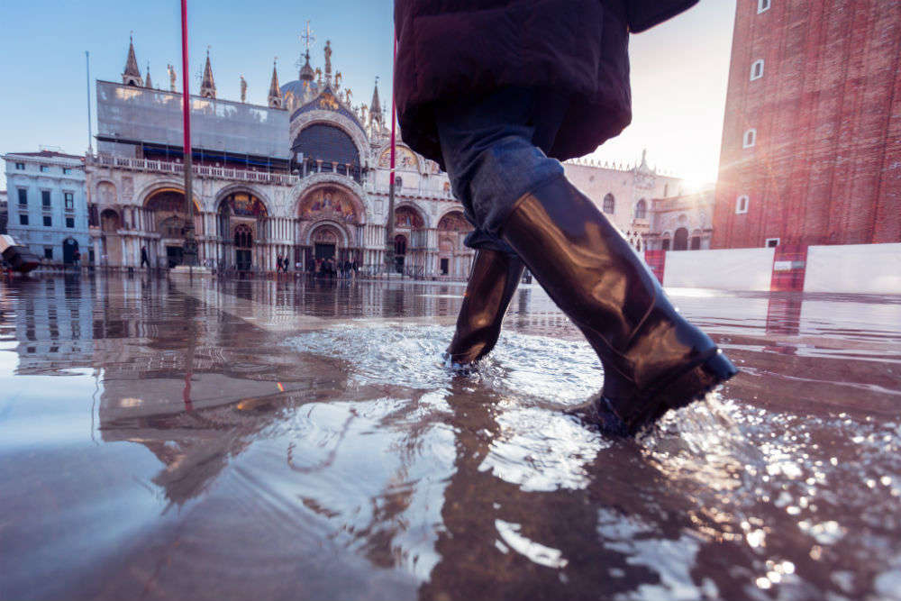 Venice reeling under severe flood, St Mark's Basilica flooded; Mayor cites climate change as cause