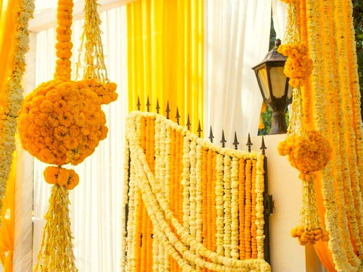 Marigold Flower Is The Latest Craze For All Innovative Wedding