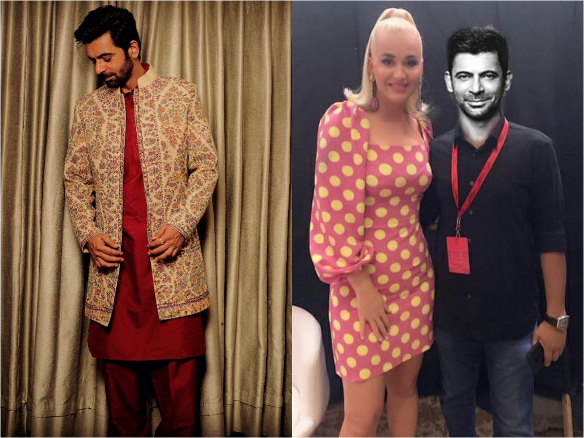Sunil Grover takes a jibe at everyone posting pics with Katy Perry; morphs himself too - Times of India