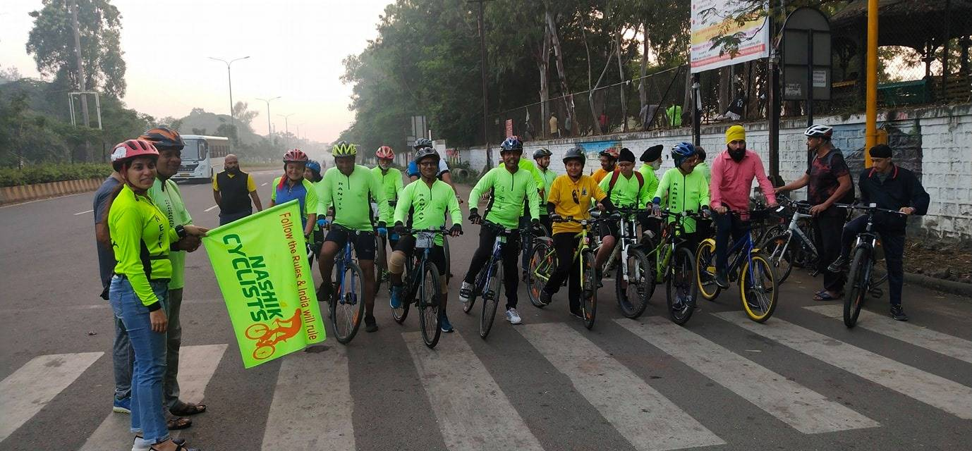 Image result for Cyclists pay their respects at Gurudwaras in the city