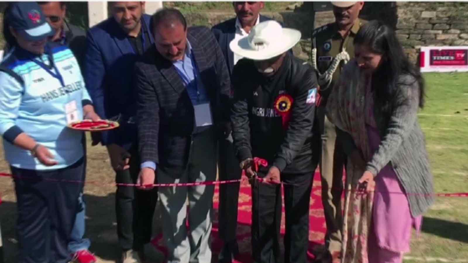governor-bandaru-dattatreya-inaugurates-cricket-match-organised-by-sports-and-anti-drugs-association