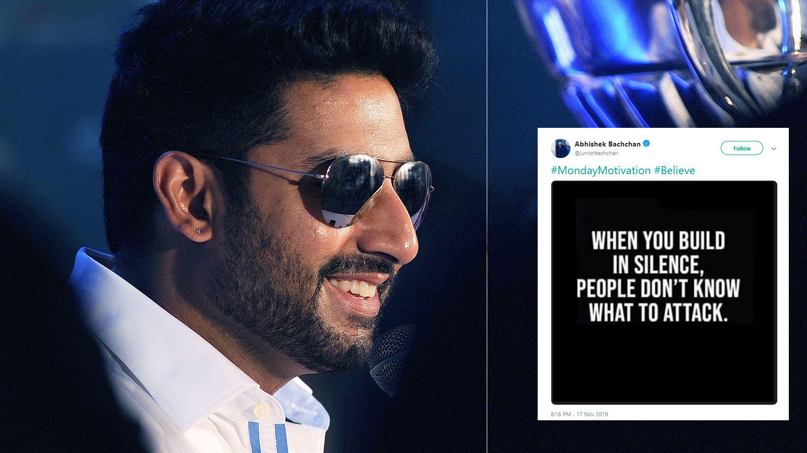 Abhishek Bachchan S Monday Motivation Post Will Definitely Equip You To Fight Online Bullying
