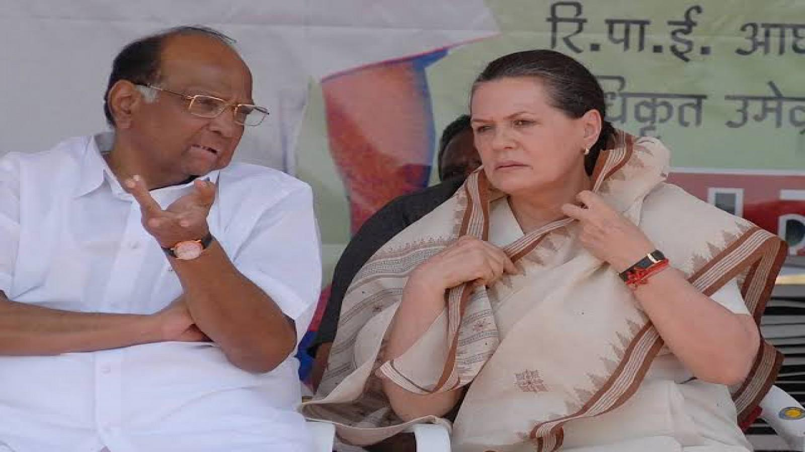 no-talk-about-government-formation-at-meet-with-congress-ncp-chief-sharad-pawar