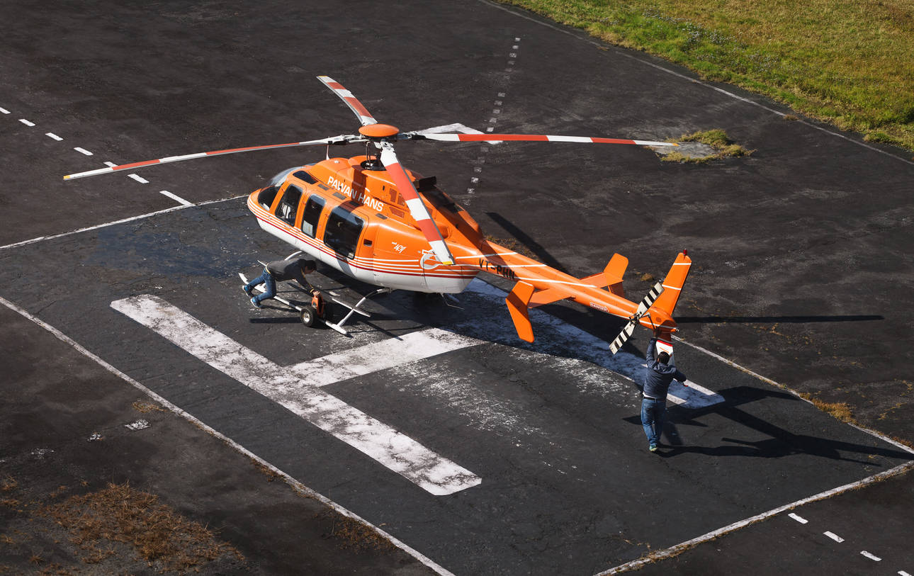 Cochin Port gets helicopter services to ease travel for cruise tourists