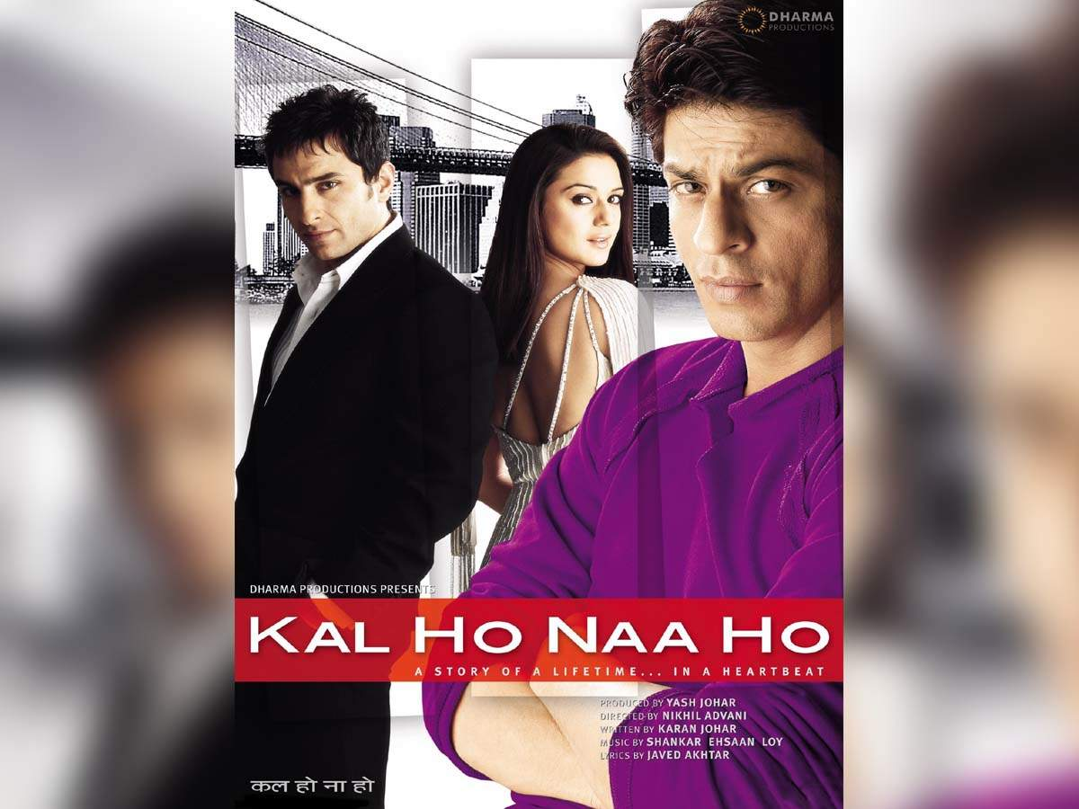 16 Years Of Kal Ho Naa Ho Fans Pour In Love For The Shah Rukh Khan Saif Ali Khan And Preity Zinta Starrer Film Hindi Movie News Times Of India